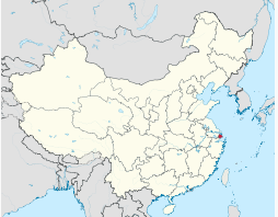 Where is Shanghai?  Find the red dot.  It represents about 1.7 of the Chinese population.