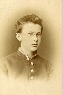 Figure 1. Vladimir Ivanovich Vernadsky as a high school student in St. Petersburg, Russia, 1878 (Wikepedia)