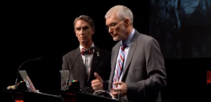Figure 2. Bill Nye (left) and Ken Ham Debate origins.